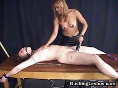 Extreme lesbian bondage porn 1by part1