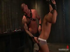 Derrick and Leo in horny extreme gay part1