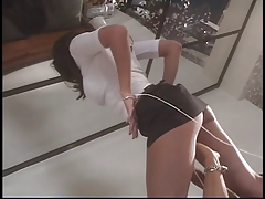 Hottie gets her pussy licked & banged