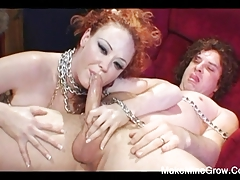 Curly Babe Got Two Cocks On Her Ass2