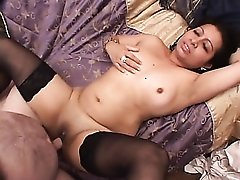 Chubby Indian babe gets shaved pussy boned deep