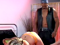 Blonde Hottie With Big Tits Gets Pounded Hard
