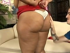 Overly emotional SSBBW loves the way her stud treats her with cuni