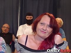 Group granny spitroasted