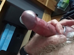 Steel rings and anal plug