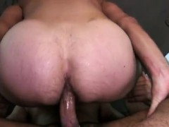 Straight  dad gay Amateur Anal Sex With  Man Bear!