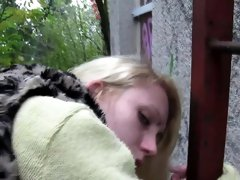 Real czech teen picked up and fucked