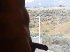 flashing in window