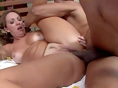 Mommy gets her ass covered in sperm after a wild one