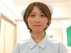 Blowjob Nurse Mio Oichi Is The Best For These Three Guys