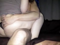 My wife jenny anal creampie