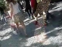 Crazy amateur Voyeur, Outdoor adult clip
