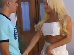 Beautiful Argentinian Tranny Fucks a Guy