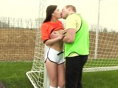 Skinny teen big cock anal Dutch football player pulverized b