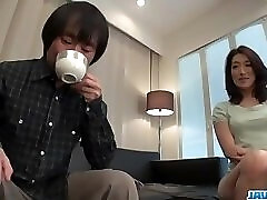 Marina Matsumoto gets fucked until a huge creampie end - More at javhd.net