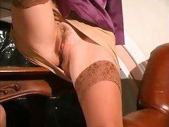 Amateur stockings lesbians lick pussy