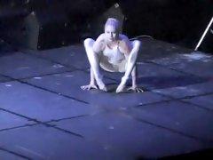 Ballerina's cameltoe