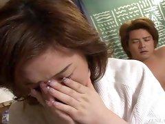 Subtitled unfaithful Japanese wife affair confessional