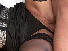 Carmen Blue and Lexxis Brown seduce a fellow for a sex game