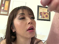 Asian Hottie Plays A Real Cock