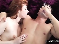 Inexperienced lezzy nymphs get their narrow poons ate and pummeled - PornGem