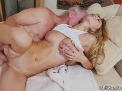 Teen teases old man xxx Molly Earns Her Keep