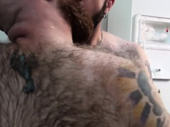 Superchub bear barebacking tight ass outdoors