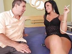 Shemale hotty adores oral