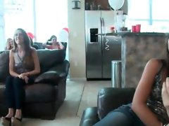 Hot horny babes go crazy jerking part2