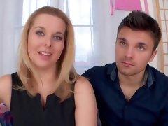 Fabulous pornstar Laura Devis in incredible cunnilingus, blonde xxx clip
