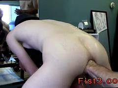 Small ass twink gets his asshole fingered and fisted deeply
