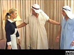 Demia Moor - Naughty Maid enjoys DP