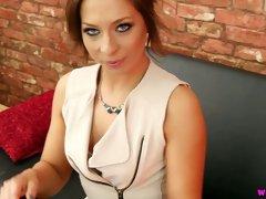 Bitch with tattooed navel Jamie T masturbates her hungry hole