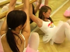 Blonde girl caught masturbating Hot ballet girl orgy