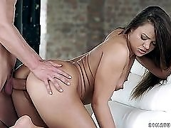 Cherry Candy enjoys a big cock fucking from behind