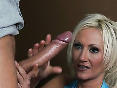 Horny and Skinny MILF Torrey Pines Loves The Party Boner