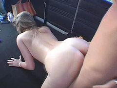 Banging van picks up hot girl named Hailey this time