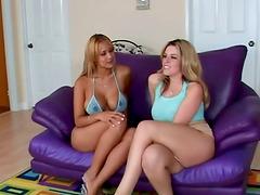Trina Michaels Sucks Sucks a HUGE Dick, gets DP'd and Screams for More!