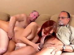 Old man and nurse Frankie And The Gang Take a Trip Down Unde