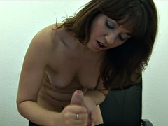 Pov mature bossl spanks cock to be bad