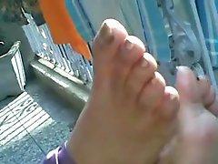 Delhi girl feet