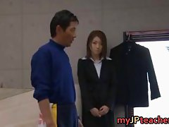 Ai Haneda Asian Teacher Gets A Hard