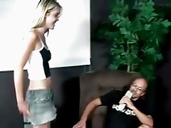 Hot blonde nasty chick gets her nice ass part5