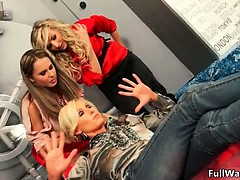 Hot blonde sluts go crazy part6