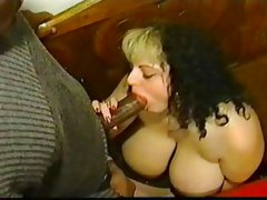 Monique East gets some black cock.